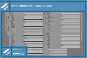 ARPG Attributes, Items, & Abilities