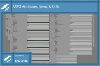 Read more about the article ARPG Attributes, Items, & Abilities