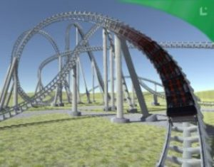 Download Animated Steel Coaster Free Unity.