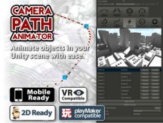Camera Path Animator – Animate Cutscenes with Splines