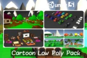 Cartoon Low Poly Pack