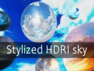 Cartoon & Stylized HDRI sky
