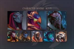 Read more about the article Character Avatar – Sci-Fi