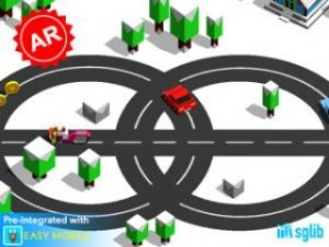 Circle Crash: AR Car Game