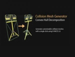 Read more about the article Collision Mesh Generator | Convex Decomposition