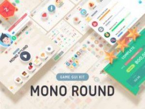 GUI Kit – Mono Round