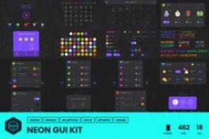 GUI Kit – Neon