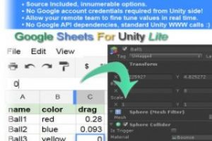 Google Sheets For Unity Lite