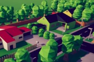 Read more about the article Low poly downtown kit