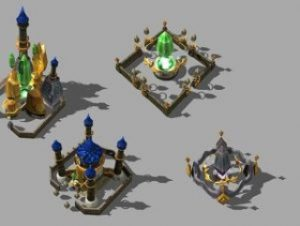 Magical Faction Structures Set