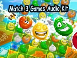 Match 3 Games Audio Kit
