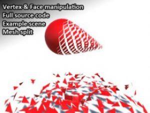 Mesh deform and manipulation