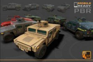 Mobile Humvee Military Vehicle Pack