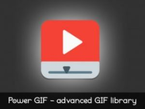 Power GIF Runtime Libary + GIPHY API