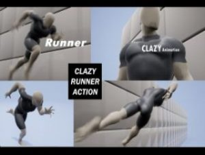 Read more about the article Runner Action Animation Pack