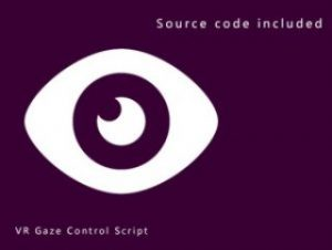 VR Gaze Control Script