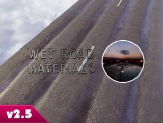 Wet Road Materials