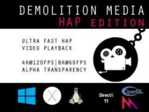 Demolition Media Hap