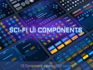 SCI-FI UI_Components v1