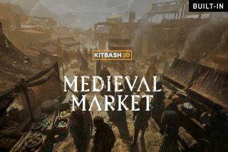 Medieval Market (Built-In)