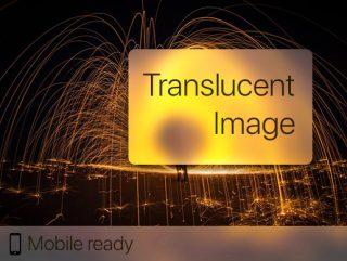 Translucent Image – Fast Blurred Background UI