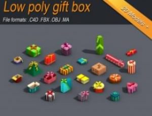 Read more about the article Low Poly Gift Box Isometric