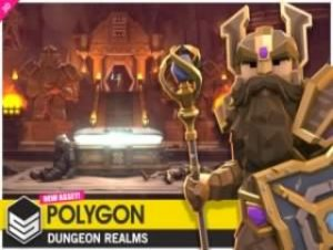 POLYGON Dungeon Realms – Low Poly 3D Art by Synty