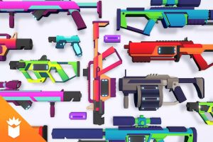 Read more about the article CB Sci-Fi Gun Pack Complete Low-poly 3D model