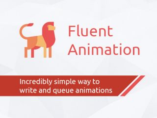 Fluent Animation – An incredible animation queue system