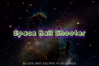 Retro Space Rail Shooter
