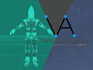 Vertices Animation Timeline Editor