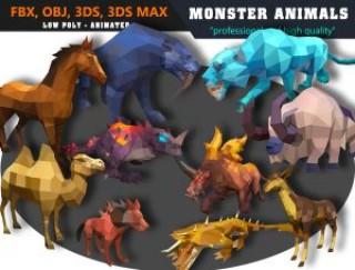 Animals Monster Cartoon Collection