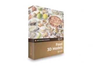 Food 3D Models for Unity Collection