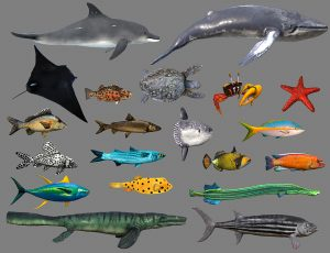 low-poly-fish-collection-animated-pack-4
