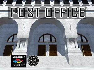 Post Office Interior Exterior Kit