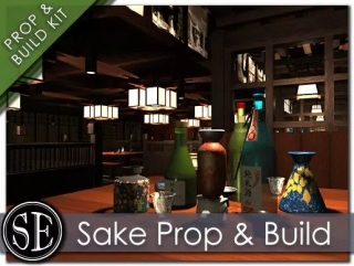 Read more about the article Sake Glassware Prop Pack and Modular Build Kit