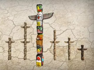Read more about the article Indian Tribal Totem Set