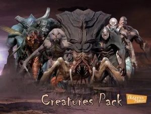 Read more about the article PBR Creatures (Pack)