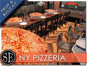 Pizza Shop Interior Exterior Kit