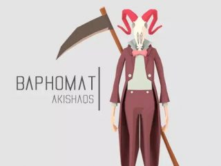 Read more about the article Baphomet   Lowpoly Character