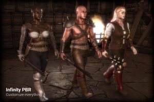character-pack-half-orc-human-elf-male-female