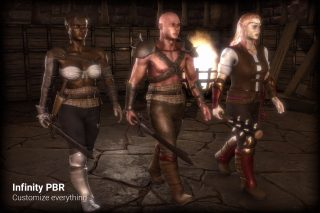 Read more about the article Character Pack: Half-Orc, Human, Elf, Male & Female
