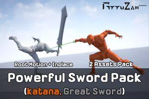 powerful-sword-pack-great-sword-katana