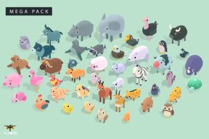 Read more about the article Quirky Series – Animals Mega Pack Vol.1