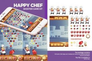 Read more about the article Happy Chef Ball Shooter Game Kit
