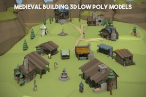 Read more about the article Medieval Building 3D Low Poly Models