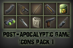 Read more about the article Post-apocalypse – Icons Game Pack 1