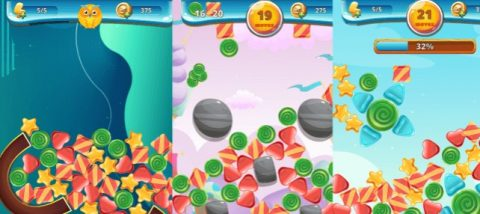 Read more about the article Sweety Shapes Physics Match3