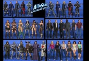 all-star-character-collection