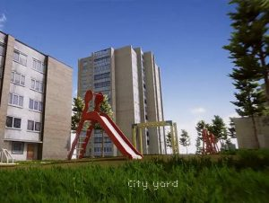 Read more about the article City yard scene